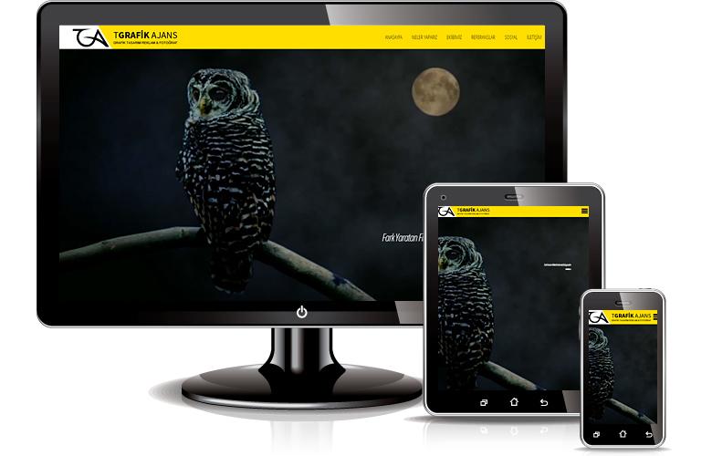 TGrafik Ajans web tasarımı