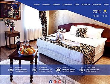 Saylamlar Otel web tasarımı