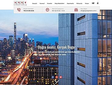 Arge Değerleme web tasarımı