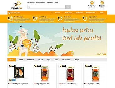 Organik Arı web tasarımı