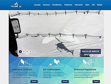 Tur-k İnşaat Taahhüt web tasarımı