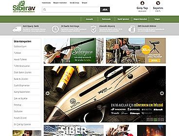 Yazıcılar Av Malzemeleri web tasarımı