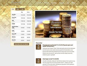 Karadeniz Kuyumculuk web tasarımı