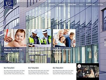 Sigorta Market web tasarımı