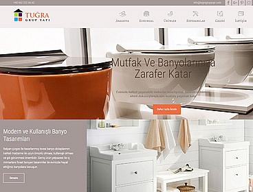 Tuğra Grup Yapı web tasarımı